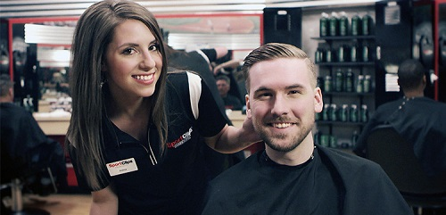Sport Clips Haircuts of College Square​ stylist hair cut
